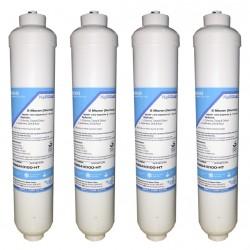 4 x Beko 4386410100 Inline External Fridge Water Filters