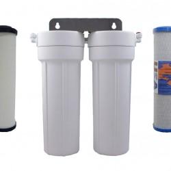 Doulton Ceramic Superblock Twin Under Sink Water Filter System