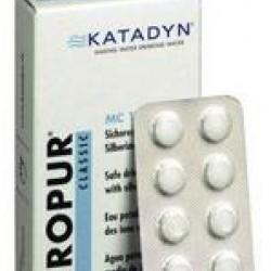 Katadyn Micropur Classic Tablets 40 x 10L