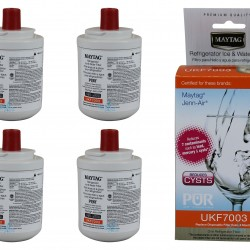 4 x Maytag Jennair UKF7003 UKF7003AXX Fridge Water Filter