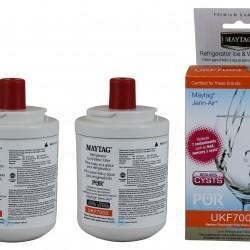 2 x Maytag Jennair UKF7003 UKF7003AXX Fridge Water Filter