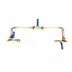 """1/2"""" Water Filter Bypass Kit Suit Single Big White/Big Blue"""