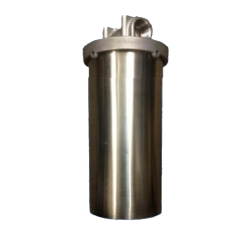 "Single Whole House Tank Rain Water Filter System 20"" Stainless"