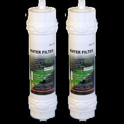 2 x Samsung EF-9603 Genuine External Fridge Water Filter