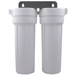 Twin Scale Reduction Phosphate Water Filter System 10""