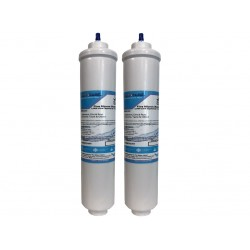 2 x Westinghouse 1450970 Compatible  Inline Fridge Water Filters