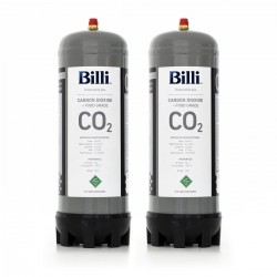 Billi Sparkling 996912 Replacement CO2 Cylinder 2 Pack (Twin)