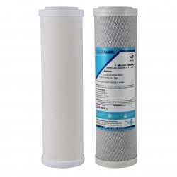 """Doulton Twin Under Sink Compatible Water Filter Set 9"""" inch"""