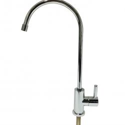 Elegant High Loop Style Ceramic Disc Water Filter Faucet Tap