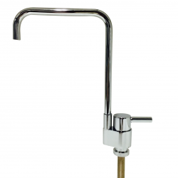 Modena Petite Square Style Ceramic Disc Water Filter Faucet Tap