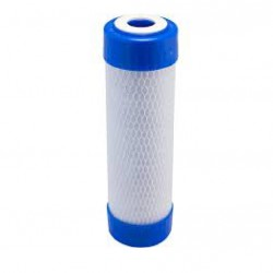 Multi-Pure Carbon Block 0.4 Mic Water Filter Cartridge Blue 10""