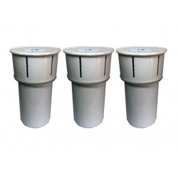 3 x Heller WF3 Replacement Water Filters WFC5 Cooler
