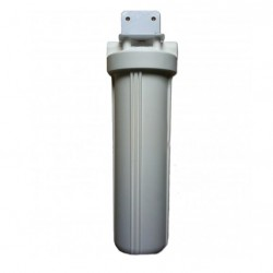 "Single Whole House Tank Rain Water Filter System 20"" Big White"