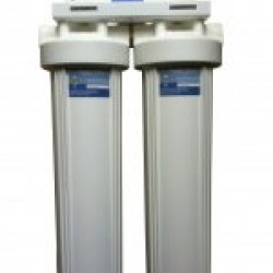 "Twin Scale Reduction Filter System 10"" x 4.5"" Premium Phosphate"