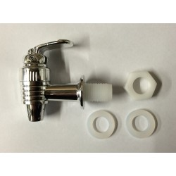 Replacement Chrome Tap for Gravity Fed Ceramic Crock Urn
