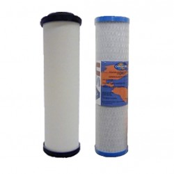 """Doulton Twin Under Sink Replacement Filter Set OMB834 9"""" Inch"""