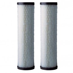 """OmniFilter RS1-DS Pleated Sediment Whole House Water Filters 10"""""""