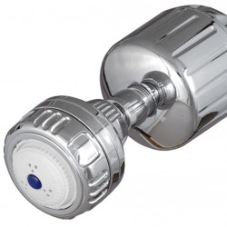 Sprite USA Chrome Shower Water Filter with Replacement Rose