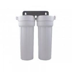 HydROtwist Twin Under Sink Water Filter Ceramic Chloramine Reduction