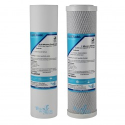 Xstream Twin System Replacement Water Filter Set XSTH14K 10""